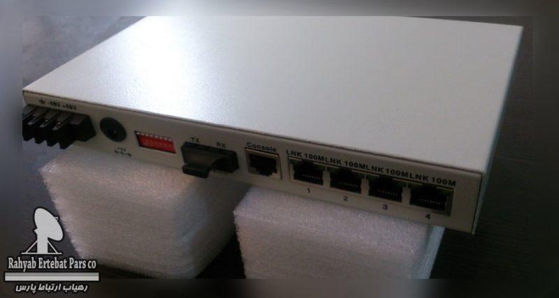 مبدل فیبر نوری فیبرنوری به اترنت