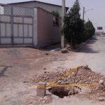 حفر حوضچه مخابراتی